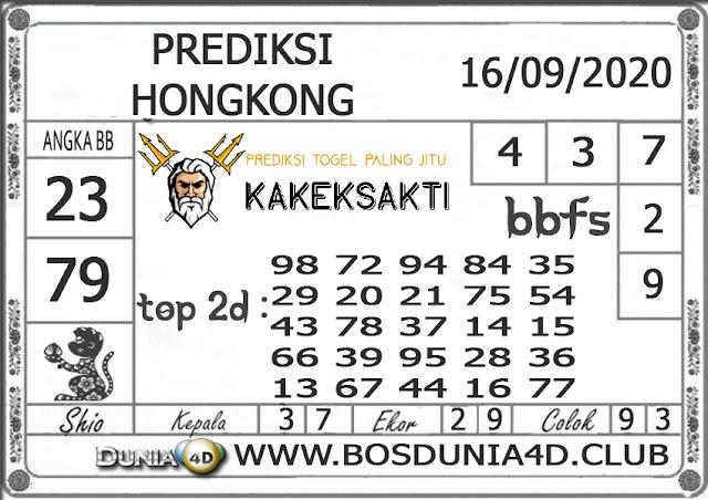 Prediksi Togel HONGKONG DUNIA4D 16 SEPTEMBER 2020