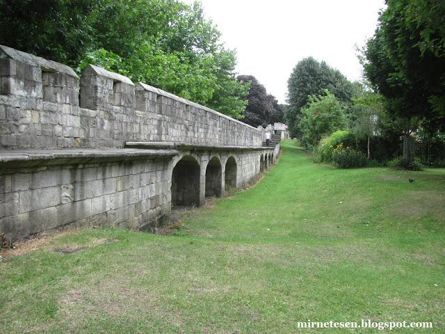 Городские стены Йорка