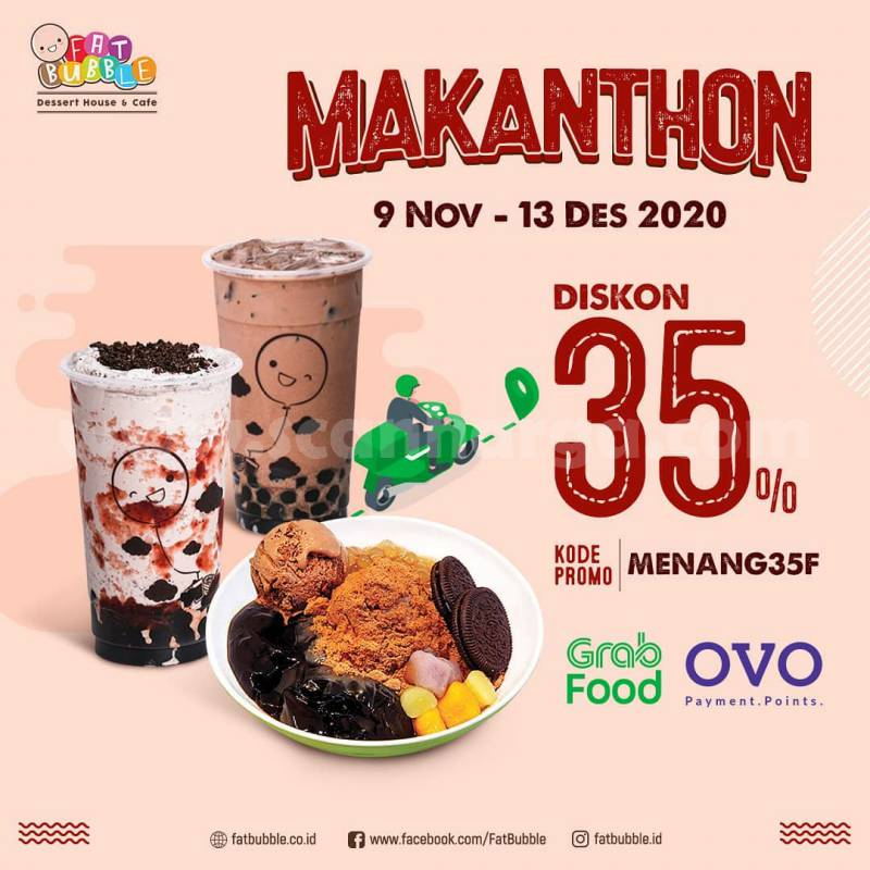 Promo Fat Bubble Makanthon Diskon 35 Via Grabfood Scanharga