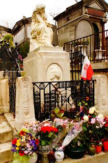 Federic Chopin grave, Pere Lachaise, Paris