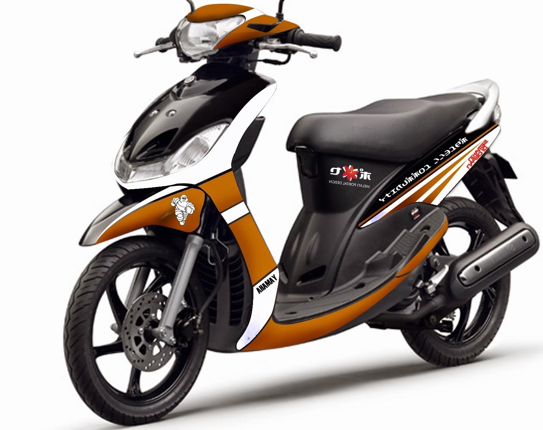 Modif Mio Soul Stiker | Modifikasi Motor Kawasaki Honda Yamaha