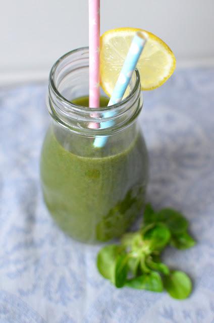 smoothie%2Bgruszka%2Broszponka Zielone smoothie z gruszką i roszponką
