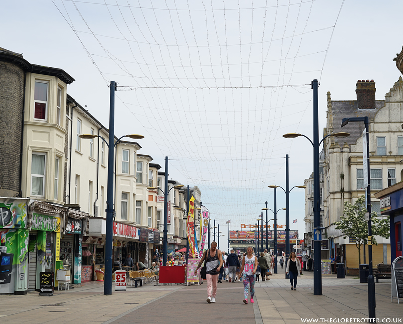 Shopping and Eating Out in Great Yarmouth