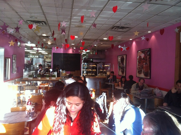 People at Burgers & Cupcakes New York