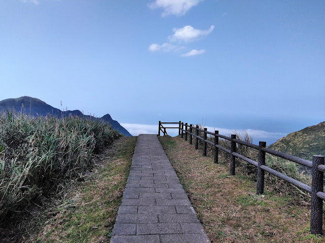 walkway edge world teapot mountain taiwan
