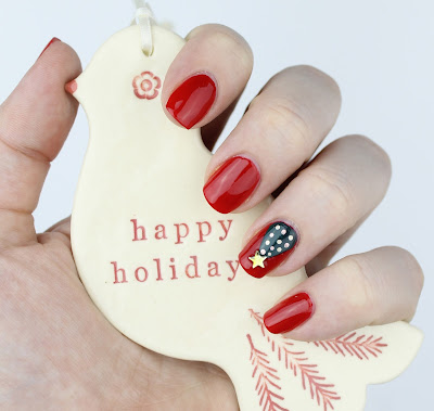 Smith & Cult Kundalini Hustle Christmas Nail Art Easy Tutorial Christmas Tree
