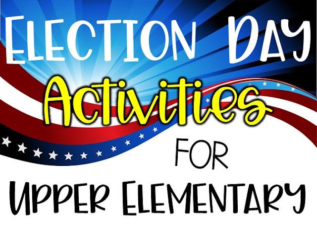 presidential election ideas for grades 4 5 6