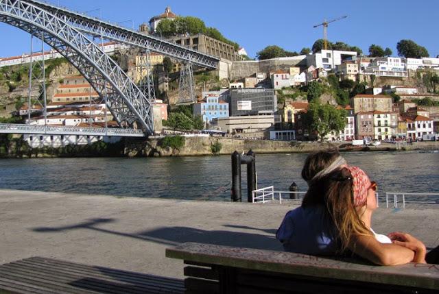 aproveitando a Ribeira no Porto
