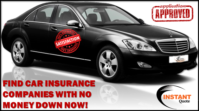 Car Insurance Companies With No Money Down