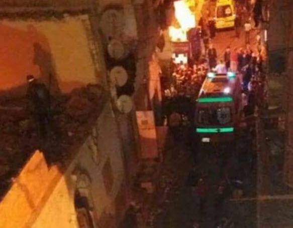 حادث مُفزع|.. تفاصيل مصرع 3 أشخاص في انفجار أسطوانة بوتاجاز