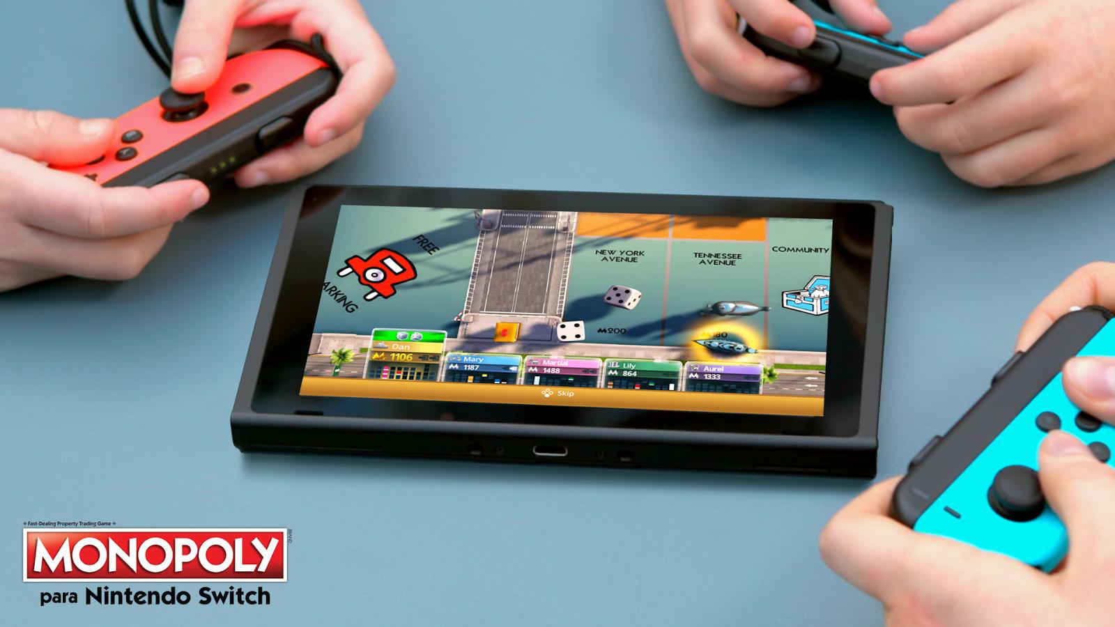 Monopoly ya disponible en Nintendo Switch