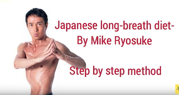 How Japanese long breathing exercise help in losing weight?