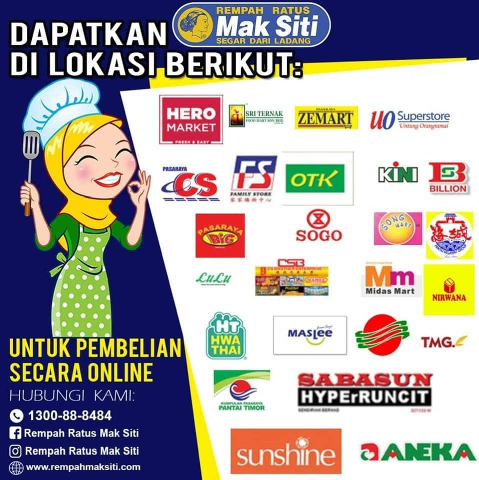 Rempah sup Mak Siti, resipi sup tulang Merah Mak Siti, Rempah ratus Maksiti