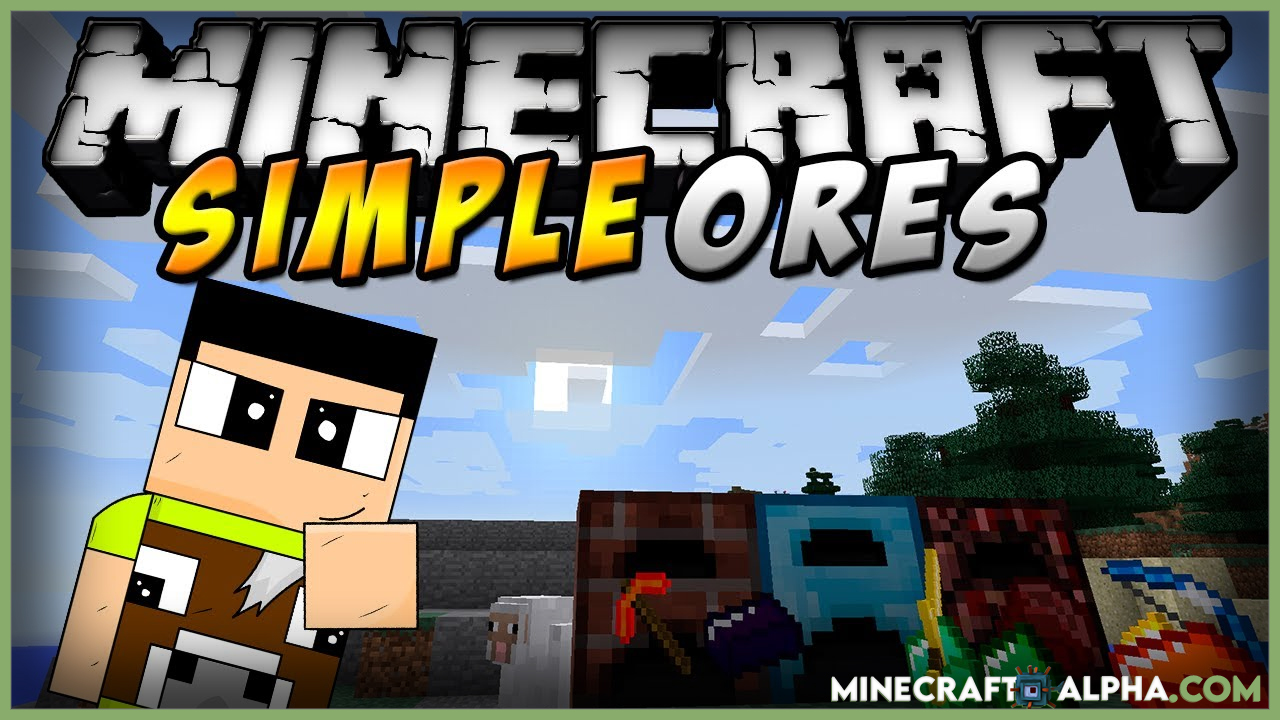 Minecraft SimpleOres Mod For 1.17.1/1.16.5 (New Alloy Ingots and Items)