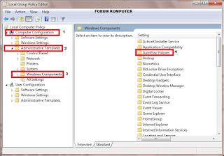 Cara Termudah Mematikan Fitur Autorun, Autoplay di Windows 7, 8 dan 10
