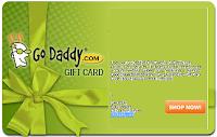 10 dollar GoDaddy Gift Certificate