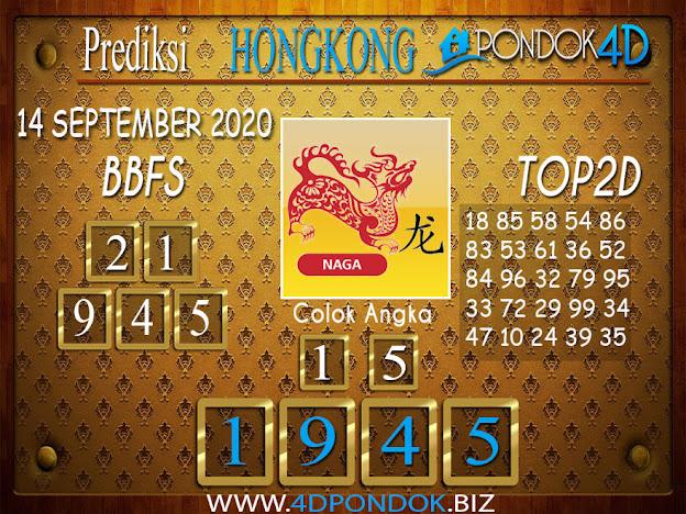 Prediksi Togel HONGKONG PONDOK4D 14 SEPTEMBER 2020