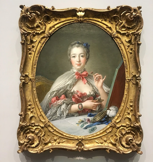 François Boucher, 1703–1770, Jeanne Antoinette Poisson, Marquise de Pompadour, 1750, with later additions, oil on canvas