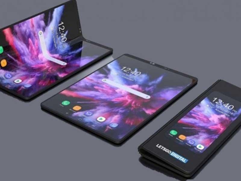 Samsung Galaxy X: Ponsel Layar Lipat Pertama Di Dunia