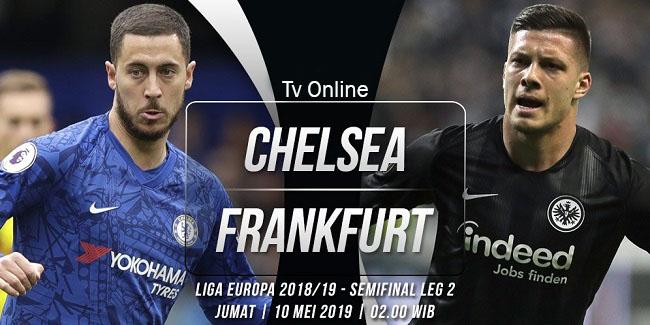 live streaming liga eropa chelsea vs frankfurt 10 mei 2019