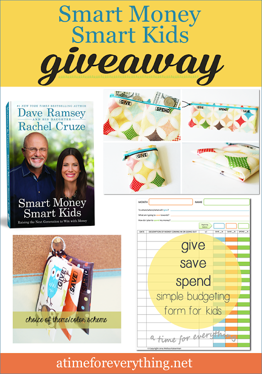A Giveaway for Money Smart Kids... and Parents!