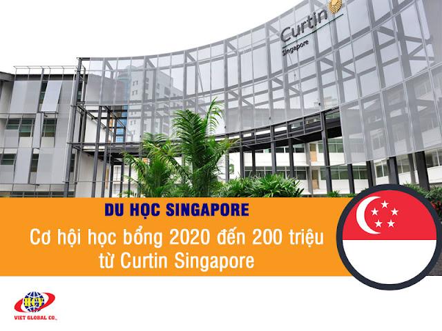 Du học Singapore: Cơ hội học bổng 2020 đến 200 triệu từ Curtin Singapore