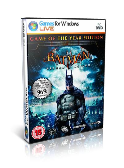 Batman Arkham Asylum PC Full Español