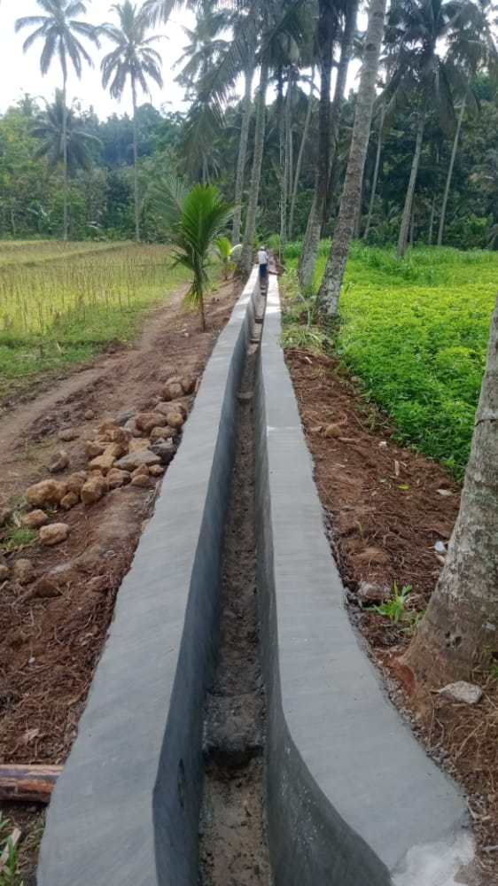 Pengerjaan Proyek P3A TGAI Kelurahan Gombengsari Kalipuro Banyuwangi, Diduga Tidak Sesuai RAP