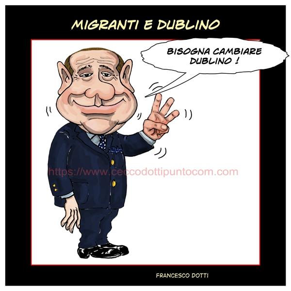 Migranti Dublino
