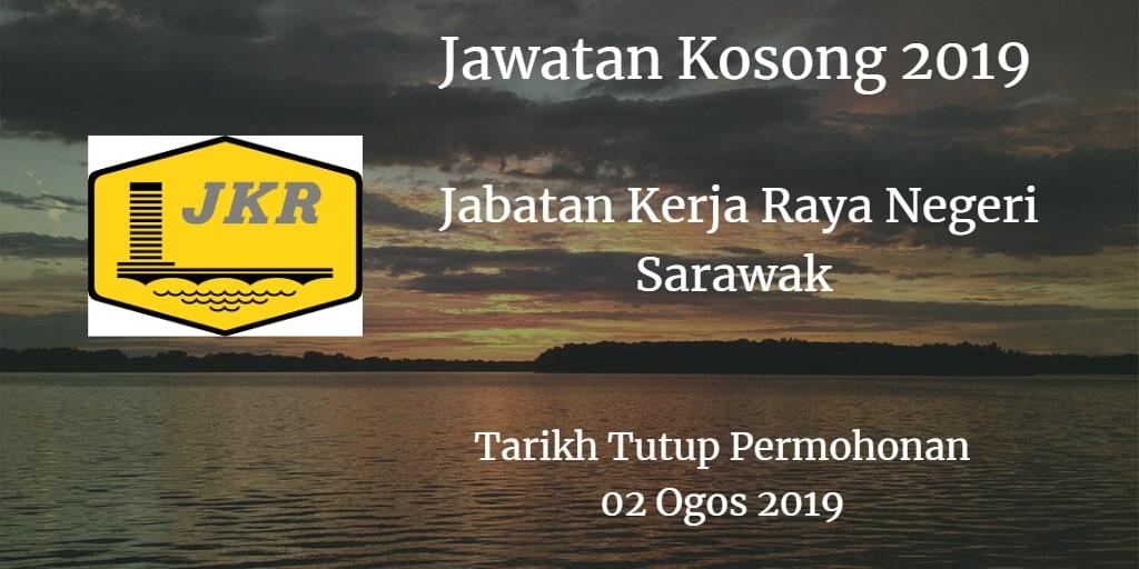 Jawatan Kosong Jabatan Kerja Raya Negeri Sarawak 02 Ogos 2019