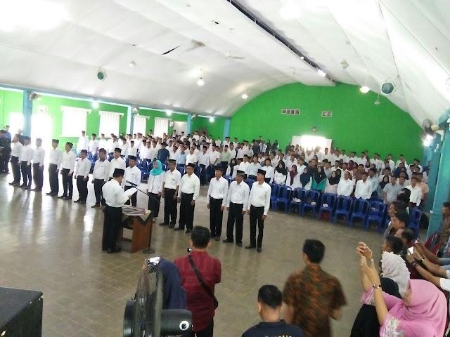 Anggota PPS Se-kabupaten PALI Dilantik