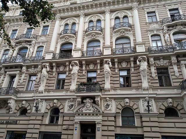 edificio art nouveau elizabetes iela 33