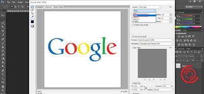 4. Pada Optimized File Format silakan ubah ke JPEG, lalu klik Save