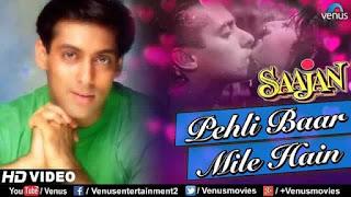 पहली बार मिले Pehli Baar Mile Hain Lyrics In Hindi