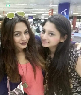 Puja Cherry Roy and Nusrat Faria Mazhar