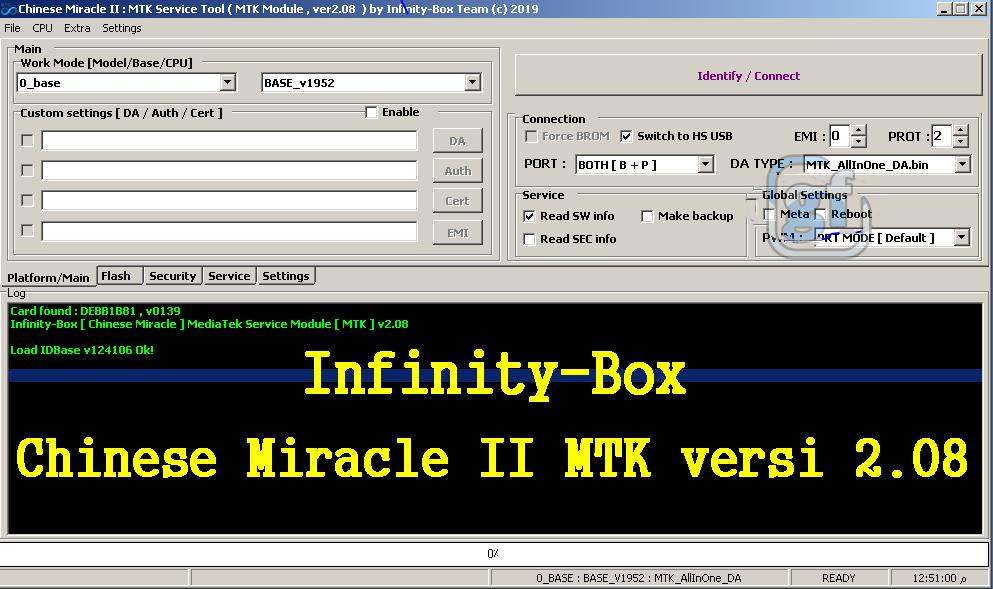 Infinity Chinese Miracle-2 MTK/Mediatek v2.08