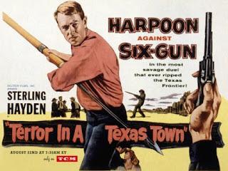 Póster de la película 'Terror en una ciudad de Texas'