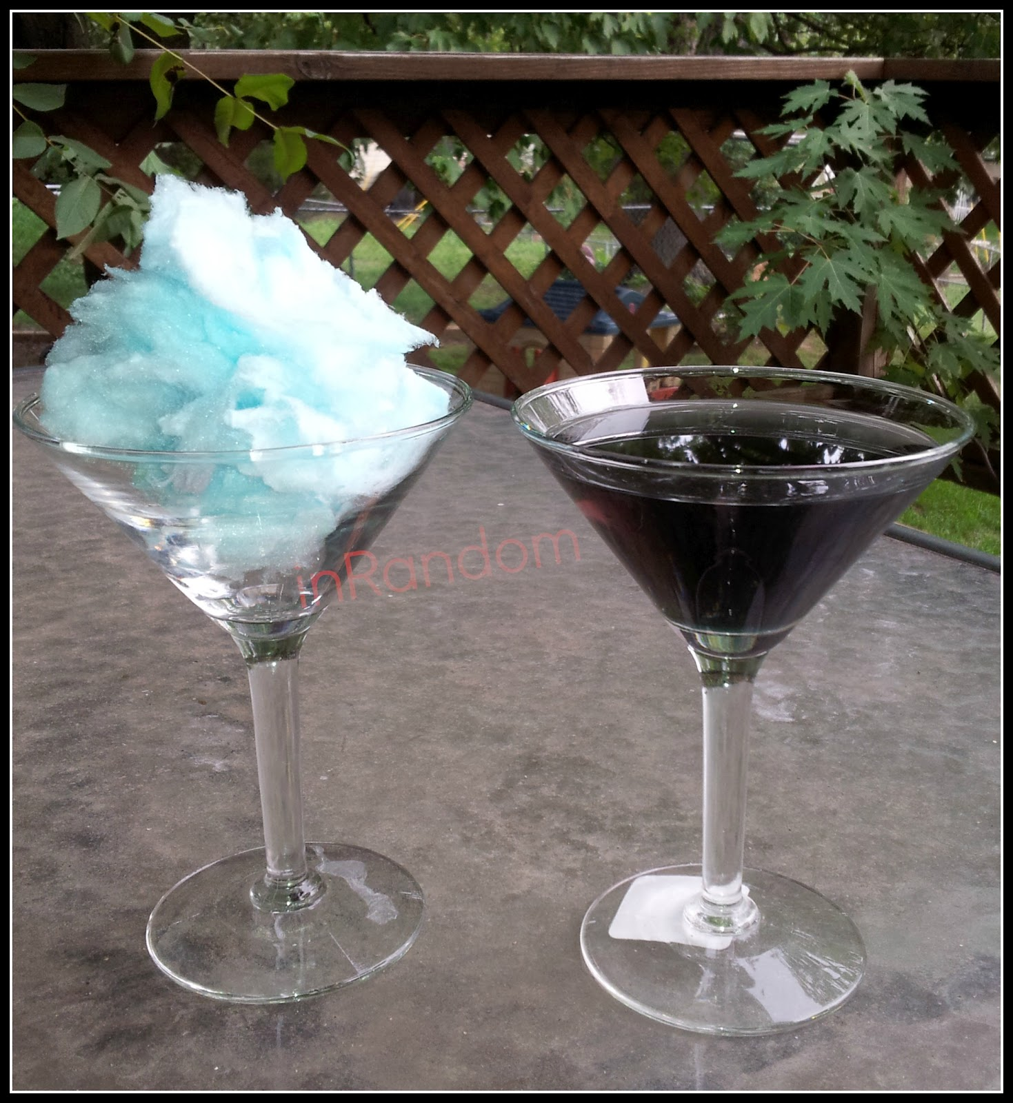 Cotton Candy Martini For Mommy