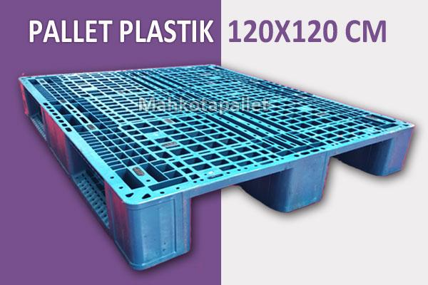 Pallet Plastik 120x120 x 15 | Spesifikasi & Harga