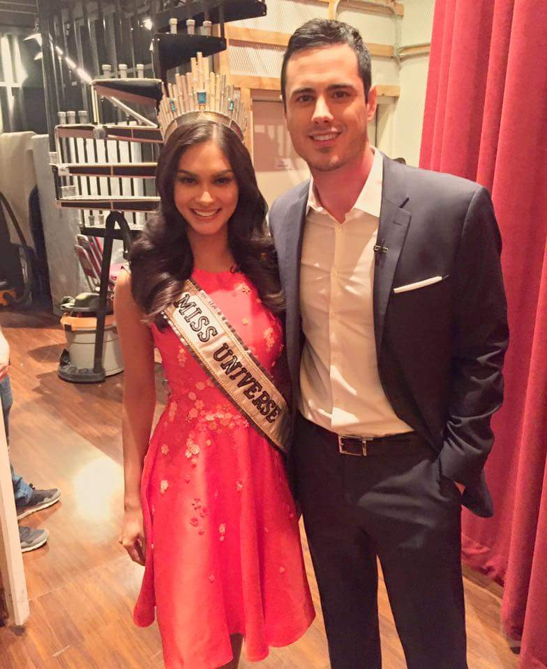 Miss Universe and The Bachelor