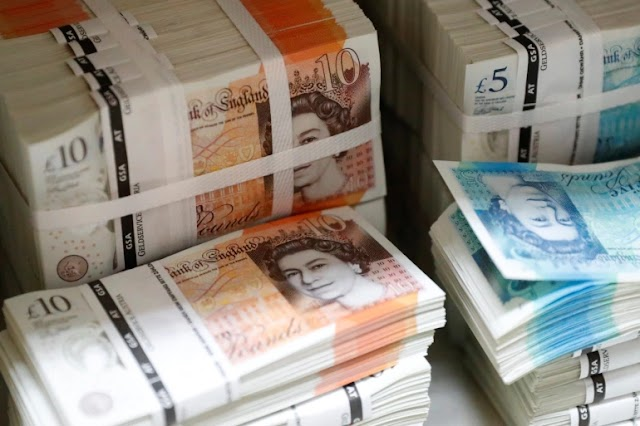 British Pound sterling at its highest Level in 3 Years while Bitcoin falls from the top