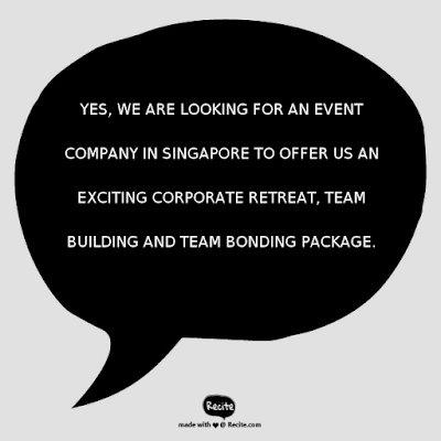 Corporate Retreat, Team Building, Team Bonding Package | Singapore | Electric Dreamz