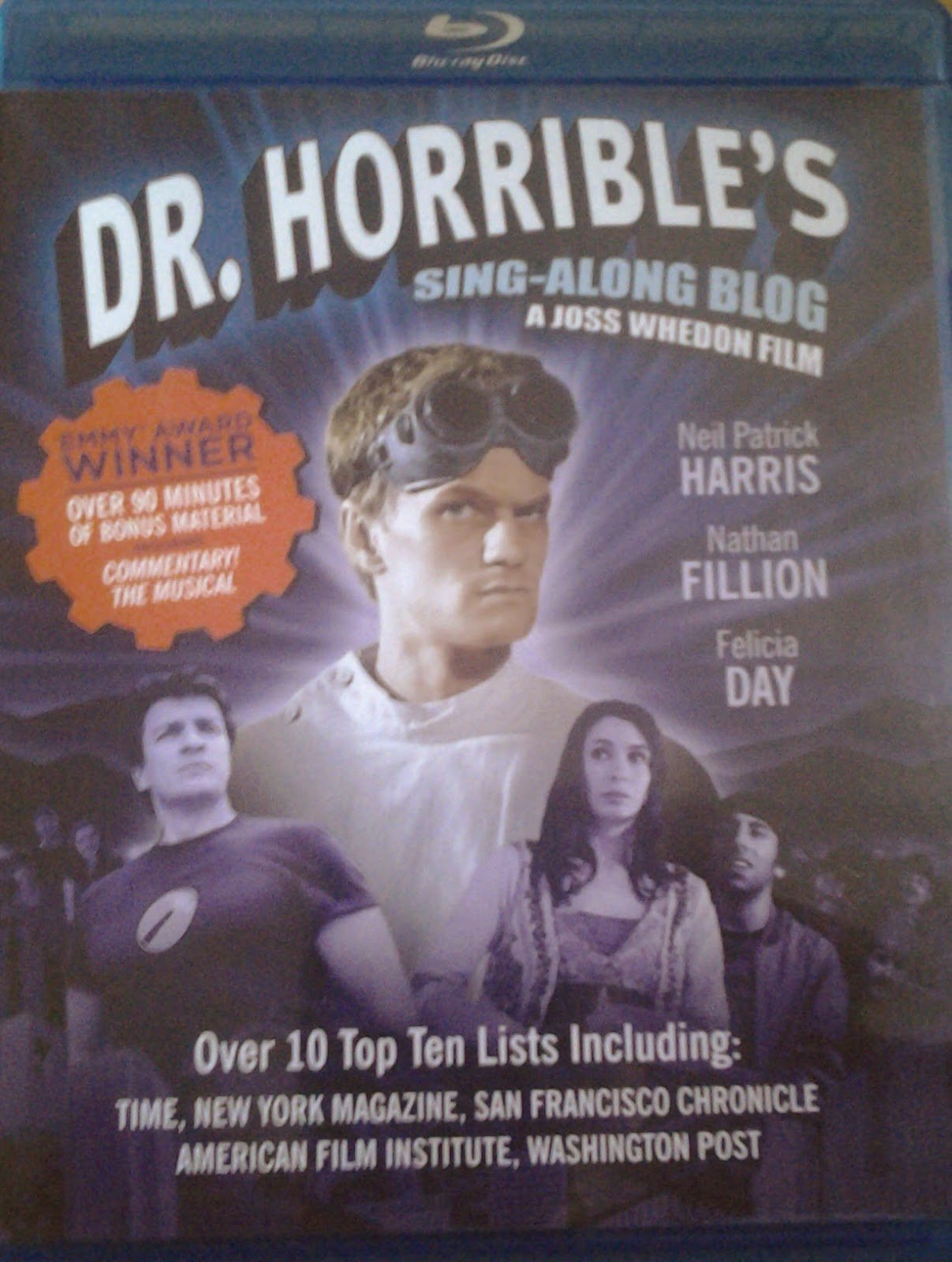 DVD Cover - Dr Horrible
