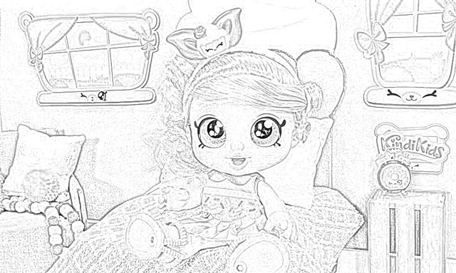 The Holiday Site Coloring Pages of Kindi Kids Dolls Free