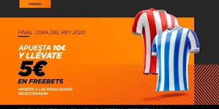kirolbet promo final copa Athletic vs Real Sociedad 3-4-2021