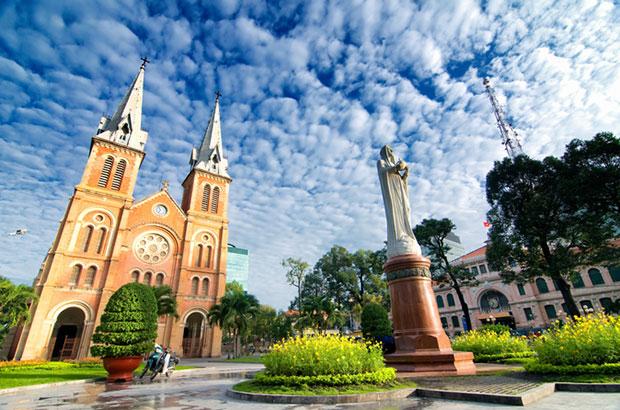 Catedral de Nôtre Dame de Ho Chi Minh City