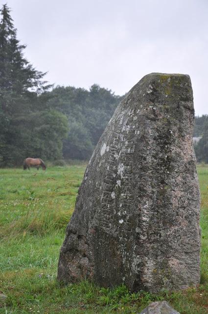 Kamień runiczny w Bække, Dania
