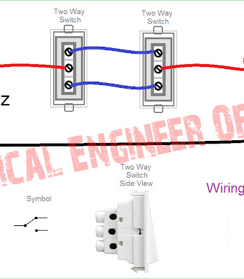 Two Way Switch Connection How To Connect A 2 Way Switch Technical Engineer Official