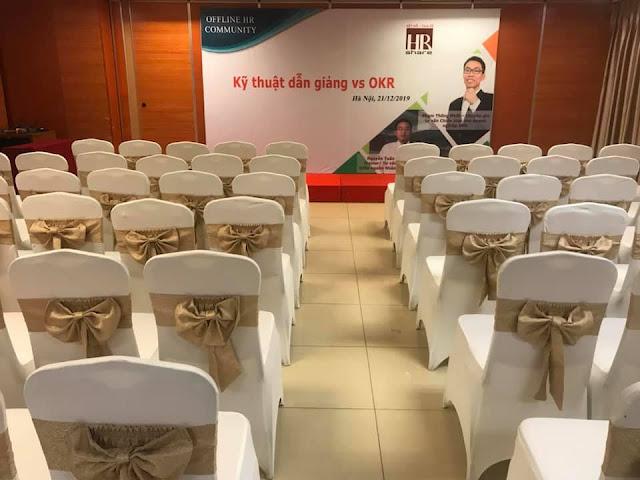 """HRShare tổ chức hội thảo """"Offline kết nối – giao lưu chuyên môn HrShare"""" tại Hội trường Vplace"""