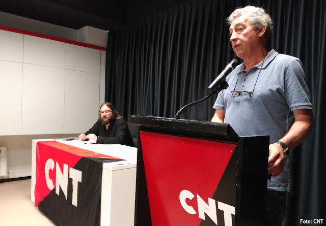 Inauguración del local de CNT en Barakaldo